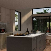 Interior: cocina