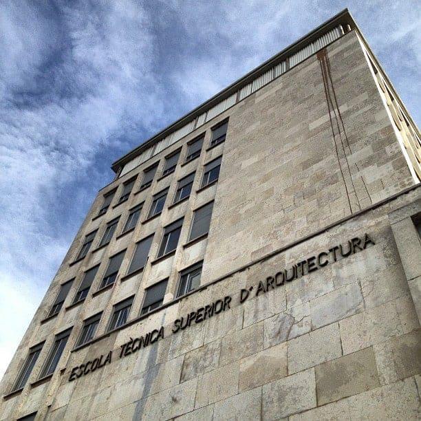 Escuela de Arquitectos en Barcelona