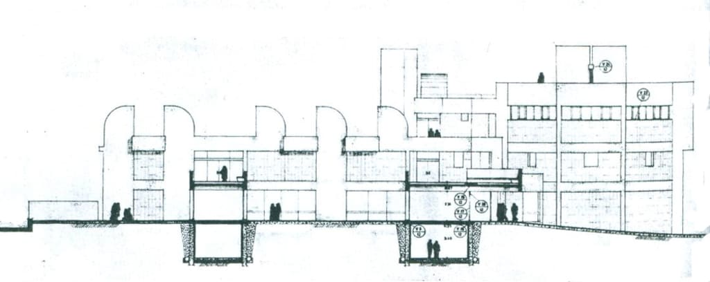 Sección de la Fundación Miró en Barcelona