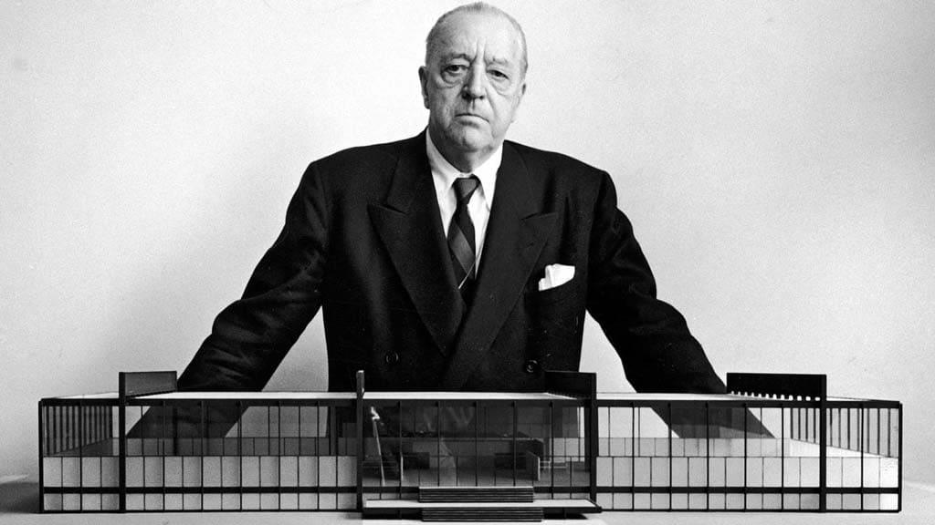 Mies van der Rohe: el arquitecto del Pabellón Alemán en Barcelona