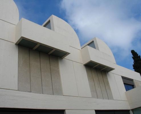 Exterior de la Fundación Miró en Barcelona
