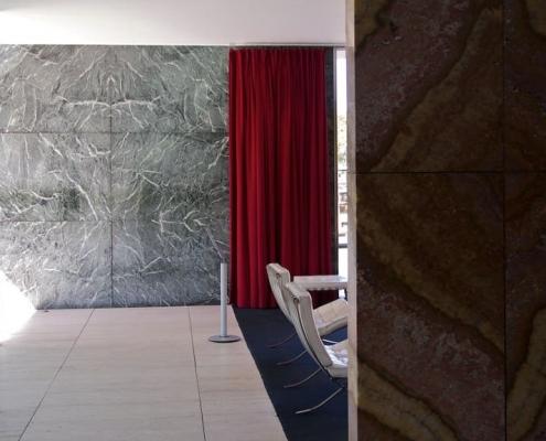 Pabellón Alemán en Barcelona, Mies Van der Rohe