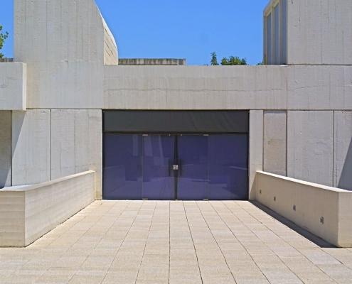 Detalle fachada Fundación Miró