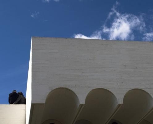 Marquesina Fundación Joan Miró