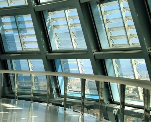 Detalle cúpula Torre Agbar