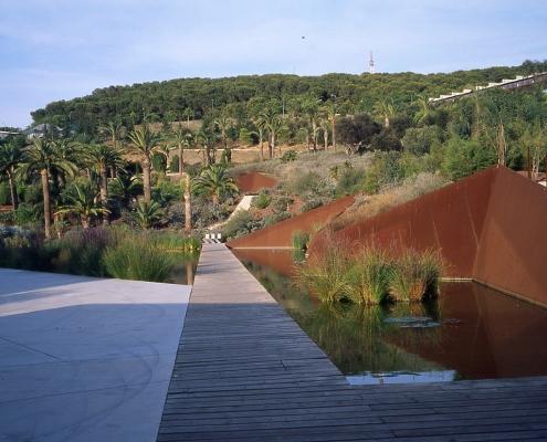Jardín Botánico de Barcelona, Carlos Ferrater